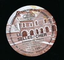 étiquette Fromage De Chèvre 150g  Le Selles/cher Coop De Chabris 36 Indre 1er Trophée Mondial De L'alimentation - Käse