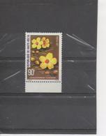"""HAUTE-VOLTA  - Flore -Fleurs : Coclospermum Planchonii - Dicotiyédones - """"faux Cotonnier"""" - Upper Volta (1958-1984)"""