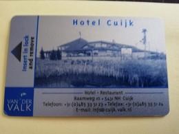 HOTELS Key Card  NETHERLANDS VAN DER VALK HOTELS HOTEL CUIJK       ** 3328** - Hotelkarten