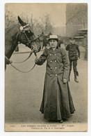 Paris Nouveau,Métier.Taxi,Les Femmes Cocher - Mme Luigen Ex-comtesse Du Pin De La Guérinière - Petits Métiers à Paris