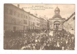 CPA 54 BADONVILLER Cavalcade 8 Avril 1912 Vue Générale Du Cortège 1915 - Other Municipalities