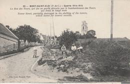 62 - MONT SAINT ELOI - La Rue Des Tours..... - Francia