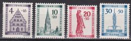 Men_ Franz. Zone Baden - Mi.Nr. 38 - 41 A - Postfrisch MNH - French Zone