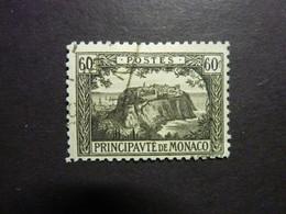 MONACO, Année 1922-23, YT N° 59 Oblitéré - Gebruikt
