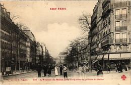 CPA Tout Paris - 538 - L'Avenue Du Maine, 15e (76565) - Arrondissement: 15