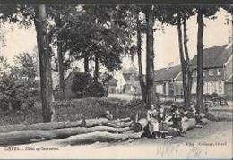 14 09/ 22// GEEL   ZICHT OP OOSTERLOO   1905  + ANIMATIE!!    Mooi Beeld !!! - België