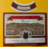 15947 - Wessenbeeger Clevner Gasthof Bären Hottwil - Fische