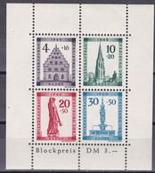 Men_ Franz. Zone Baden - Mi.Nr. Block 1 A - Postfrisch MNH - French Zone