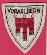 Ecusson Tissu VORARLBERG Autriche ( Piane - Patches