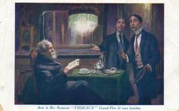 CPA. Invention - Avec Le Bec Renversé Visseaux, Grand Père Lit Sans Lunettes - 1925. -  Scan Du Verso - - Mestieri