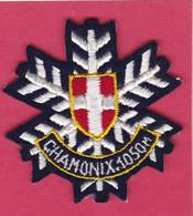 Ecusson Tissu CHAMONIX ( Piane - Patches