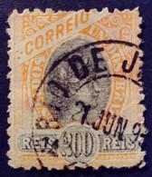 Bresil Brasil Brazil 1894 Liberté Liberty Liberta Yvert 83 O Used - Gebraucht