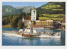 AJ50 St. Wolfgang, Salzkammergut With Paddle Steamer - Österreich