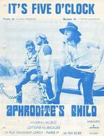 APHRODITE'S CHILD - DEMIS ROUSSOS - IT'S FIVE O'CLOCK- 1969 - TRES BON ETAT - - Music & Instruments