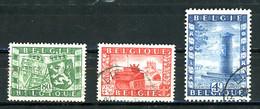 BE   823 - 825   Obl  ----   Union Belgo-Britannique - Gebraucht