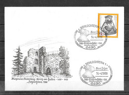 ENVELOPPE FDC 1er JOUR ( 14-4-1988) - [7] Repubblica Federale