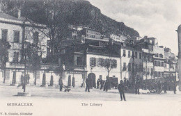 AP90 Gibraltar, The Library - Animated, Undivided Back - Gibraltar