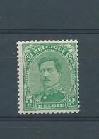 N° 137AA * VERT EMERAUDE - 1915-1920 Albert I