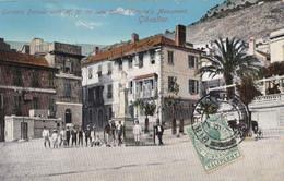 AP90 Gunners Parade With Queen Victoria Monument, Gibraltar - Gibraltar