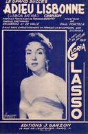 GLORIA LASSO - ADIEU LISBONNE - 1956 - EXCELLENT ETAT - - Music & Instruments