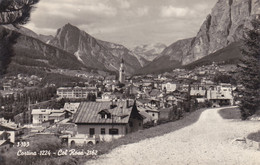 Cartolina - Cortina, Col Rosà. Belluno. - Belluno