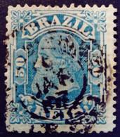 Bresil Brasil Brazil 1882 Pedro II Yvert 53 O Used - Gebraucht