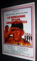 Carte Postale : Louis De Funes - Le Gendarme Et Les Gendarmettes (affiche Film Cinéma) - Manifesti Su Carta