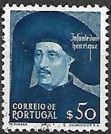 PORTUGAL    -    1949  .  Y&T N° 719 Oblitéré .    Dom Henrique - Usati