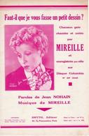 MIREILLE - FAUT IL QUE VOUS FASSE UN PETIT DESSIN ? - 1935 - EXCELLENT ETAT - - Music & Instruments
