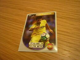 Manu Trigueros Villarreal Spanish Football Soccer Europe's Champions 2017-2018 Greek Sticker - Otros