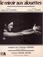 CATHERINE SAUVAGE / LOUSSIER / TOURNEMIRE - LE MIROIR AUX ALOUETTES - 1968 - TRES BON ETAT - - Music & Instruments