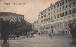 CPA ONEGLIA - Palazzo Scolastico - Imperia