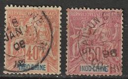 Indochine N° 12, 13 - Gebruikt