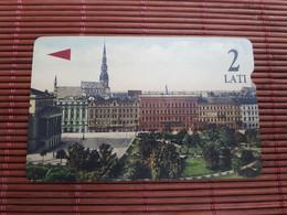 Phonecard Letland Used Rare - Latvia