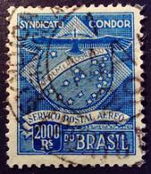 Bresil Brasil 1927 Compagnie Syndicato Condor Yvert 5 O Used - Gebraucht