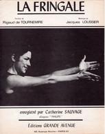 CATHERINE SAUVAGE / LOUSSIER / TOURNEMIRE - LA FRINGALE - 1968 - TRES BON ETAT - - Music & Instruments