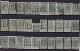 30 Zegels Rijkswapen Nr. 53 Allen Met Afstempeling ANVERS / ANTWERPEN En Merendeel In Goede Staat ; Zie Ook Scan ! - Roller Precancels 1894-99
