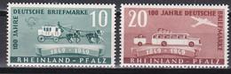 Men_ Franz. Zone Rheinland - Pfalz - Mi.Nr. 49 - 50 - Postfrisch MNH - French Zone