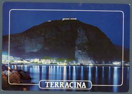 °°° Cartolina - Terracina Riviera Di Levante E Tempio Di Giove Viaggiata °°° - Latina