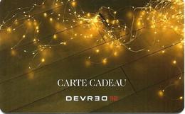 Carte Cadeau - Devred  -   GIFT CARD /GESCHENKKARTE - Gift Cards