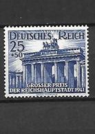 628-ALLEMAGNE-III REICH- 1941 Grand Prix Hippique De Berlin YT 727  Neuf ** - Ungebraucht
