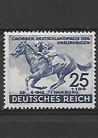 629-ALLEMAGNE-III REICH-1942 Derby De Hambourg  YT -738 Neuf * - Ungebraucht