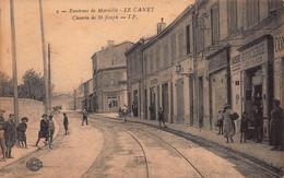 CPA Environs De Marseille - LE CANET - Chemin De St-Joseph - Quartieri Nord, Le Merlan, Saint Antoine