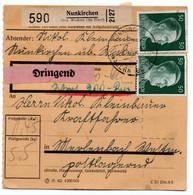 Allemagne  //  Colis Postal  //   De Nunkirchen // 29/6/43 - Deutschland