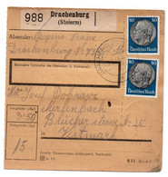 Allemagne  //  Colis Postal  //   De Drachenburg - Deutschland