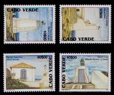 (018) Cape Verde  Lighthouses / Phares / Leuchttürme   ** / Mnh  Michel 855-858 - Cape Verde