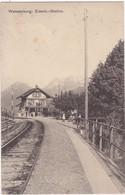 Suisse : BE Berne : WEISSENBOURG - WEISSENBURG : Eisenb : Station : Gare - Train - - BE Berne