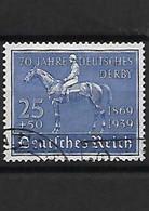 632-Allemagne III REICH-1939 70 ème Anniversaire Du Derby De Hambourg YT 637 Oblitéré - Gebraucht