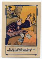 PUBLICITE A LA BELLE JARDINIERE MAISON GODARD 41 BLOIS  -  AVOCAT QUI PLAIDE - Reclame