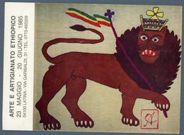 °°° Cartolina - Latina Arte E Artigianato Ethiopico Nuova °°° - Latina